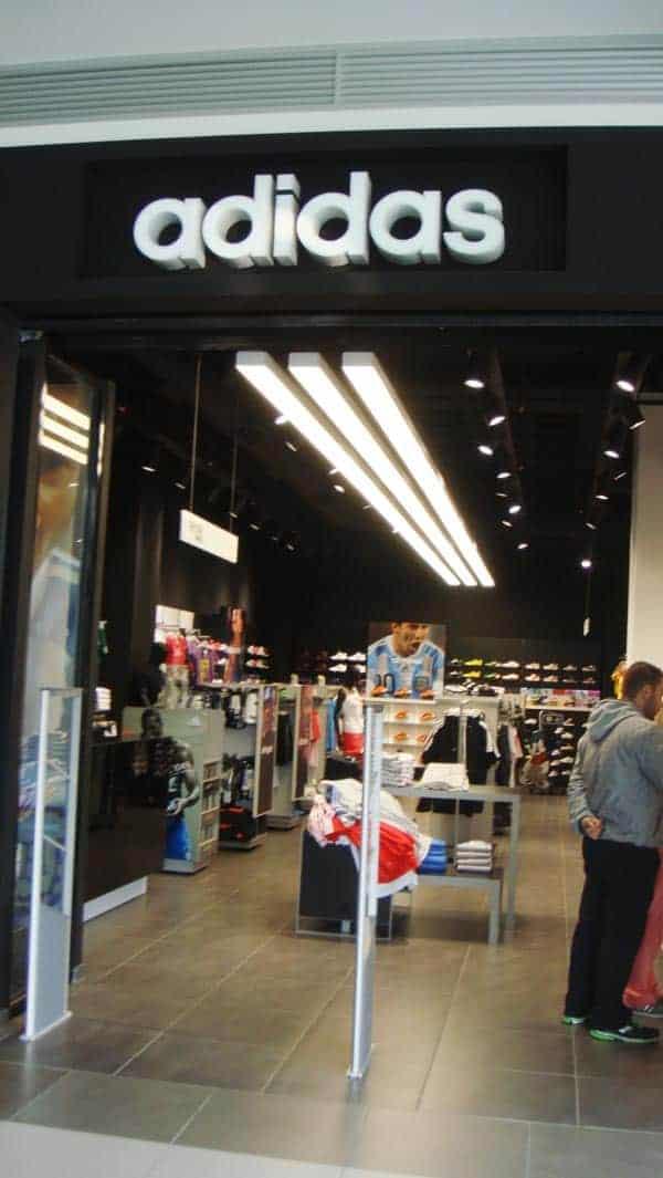 Ελαιοχρωματισμοί Καταστήματος Adidas στο Metro Mall