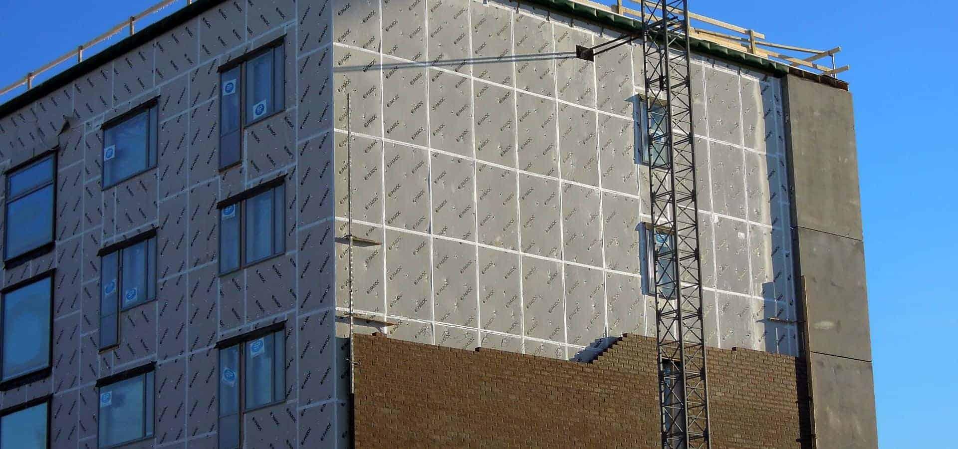 Θερμοπροσόψεις Κτιρίων - Μονώσεις Ταρατσών Chromotech