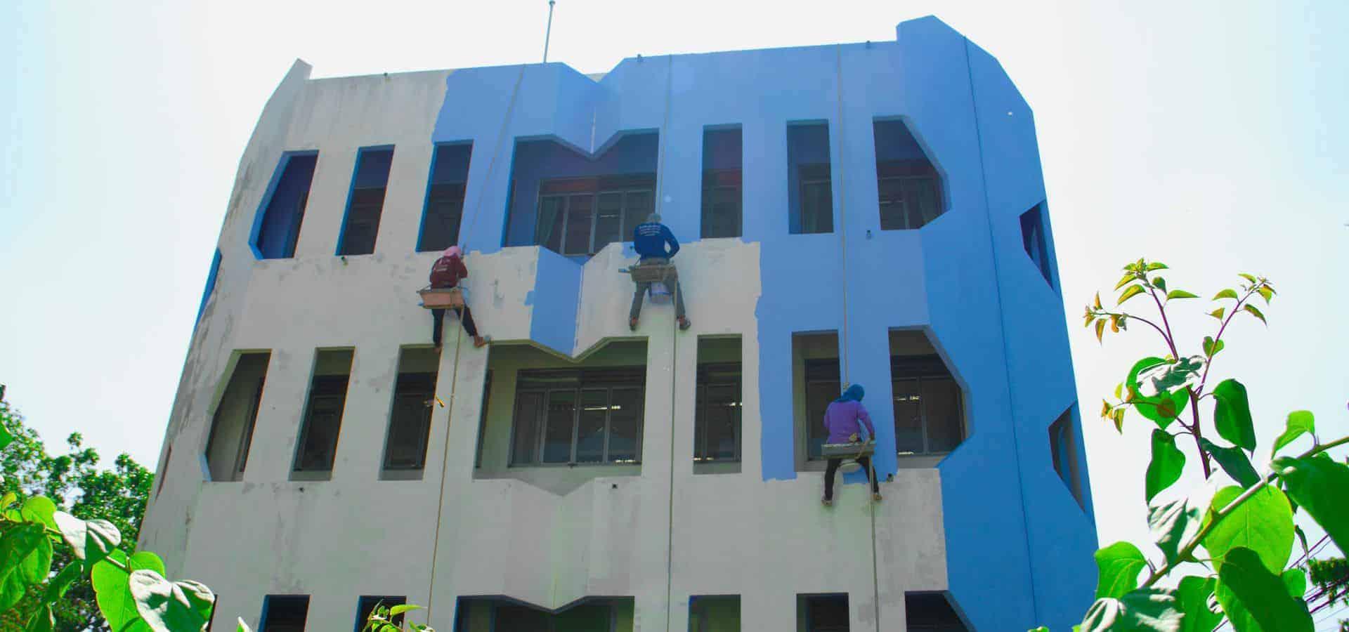 Ελαιοχρωματισμοί Εξωτερικών Τοίχων, Βάψιμο Σπιτιών, Μονώσεις Ταρατσών, Θερμοπροσόψεις Κτιρίων Chromotech