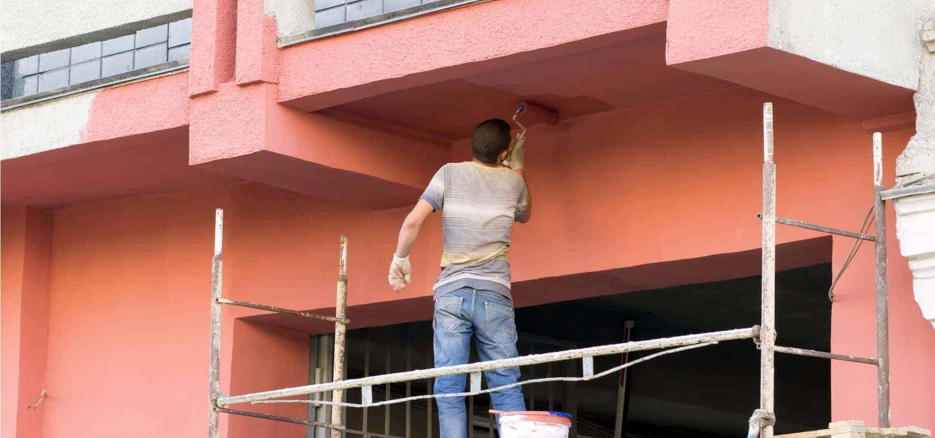 Βάψιμο Κτηρίου, Βαψίματα Κτιρίων, Βάψιμο Οικοδομής & Πολυκατοικίας - Chromotech
