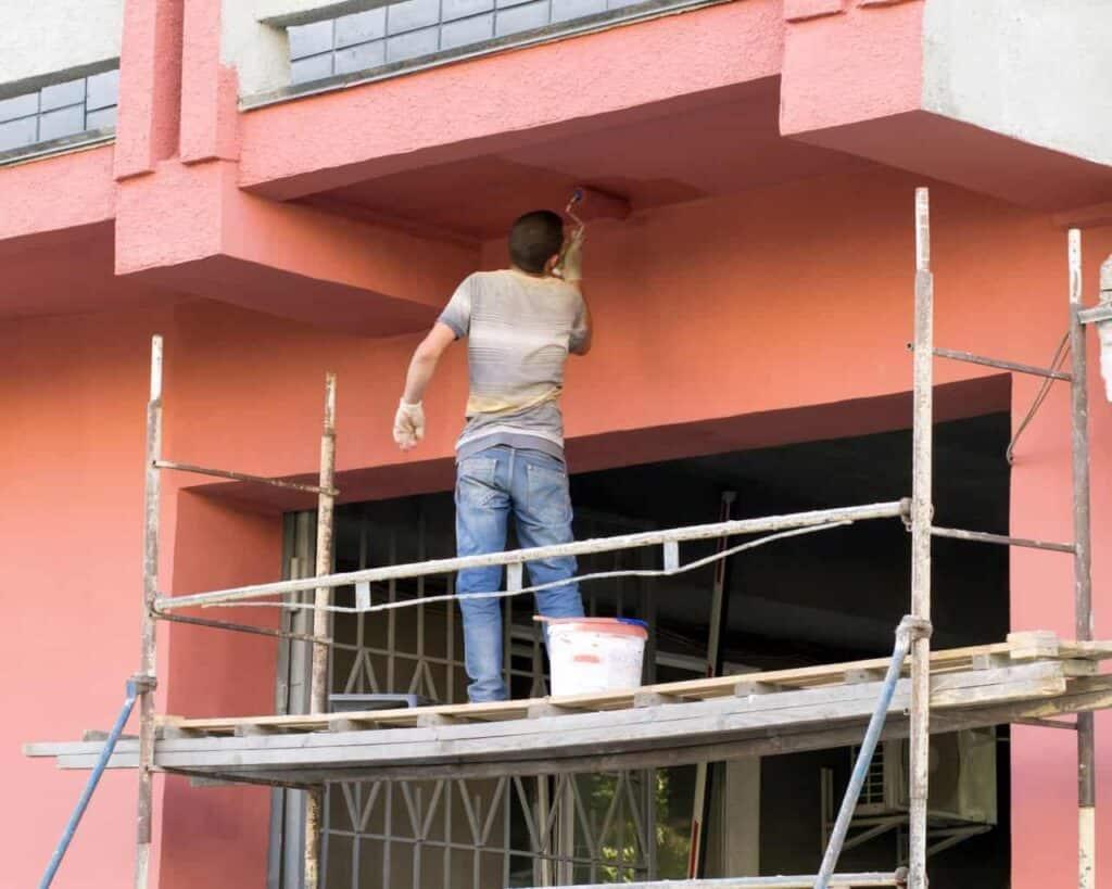Βάψιμο Κτηρίων, Βαψίματα Κτιρίων, Βάψιμο Οικοδομών & Πολυκατοικίας - Chromotech